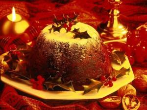 Английский рождественский пудинг